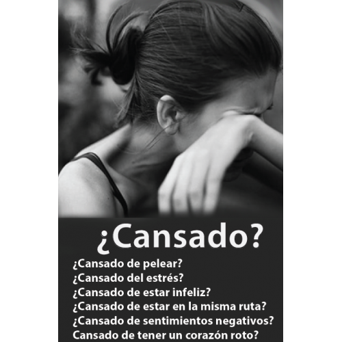 Gospel Tract (Spanish) - ¿Cansado? - 100 Pack - Are You