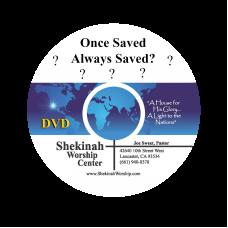 Once Saved Always Saved? - Single DVD by Joe Sweet