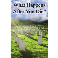 Gospel Tract - What Happens After You Die? - 100 Pack